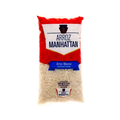 Arroz Blanco Manhathan Grano Largo 454 Gr