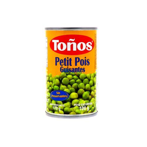 Guisante Tonos Lata 170 Gr