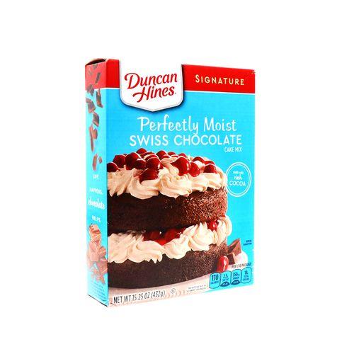 Mezcla Para Pastel Duncan Hines Chocolate Suizo 15.25 Oz