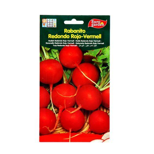 Semillas De Rabanito Redondo Eurogarden Rojo Vermell 15 Gr