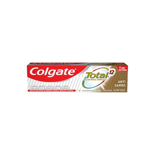 Crema Dental Colgate Total Anti-Sarro 75mL