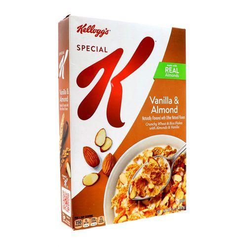 Cereal Kelloggs Special K Vainilla Y Almendras 12.4 Oz