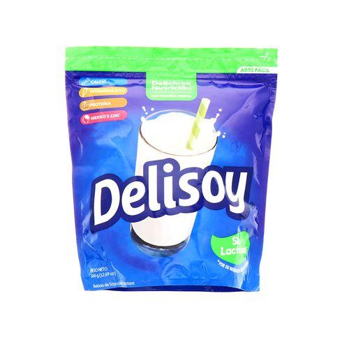 Bebida En Polvo Delisoya Sin Lactosa 360 Gr