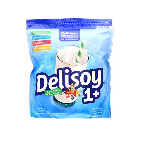 Bebida En Polvo Delisoya Sin Lactosa 1+ 360 Gr