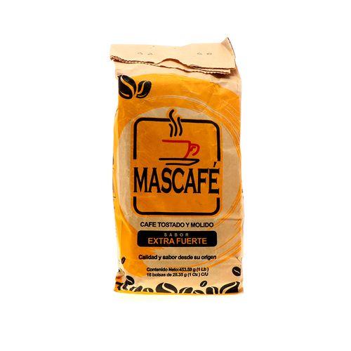Café Molido Tostado Mascafé 16 Unidades De 454 Gr
