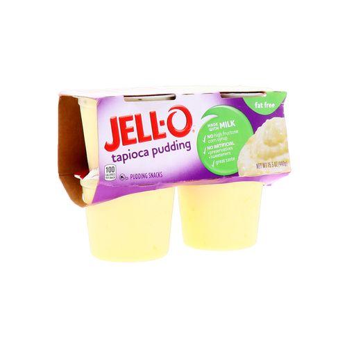 Pudding Jell-O Tapioca Libre De Grasas 15.5 Oz