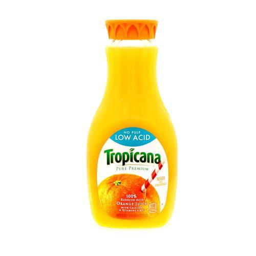 Jugo Tropicana De Naranja Premium Sin Pulpa 52 Oz