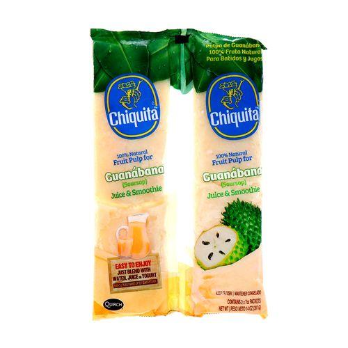 Pulpa De Fruta Chiquita De Guanábana 14 Oz