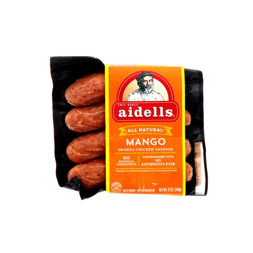 Salchicha De Pollo Aidells Ahumada Con Mango 4 Un/12 Oz