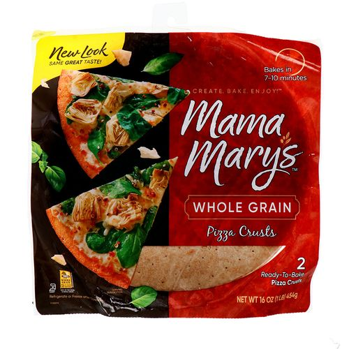 Pizza Crusts Mama Marys Whole Grain 16 Oz