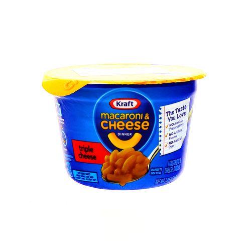 Macarron Kraft Triple Queso 2.05 Oz