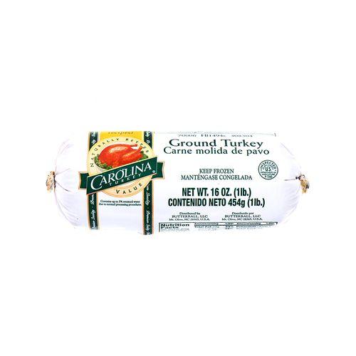 Carne Molida De Pavo Carolina 16 Oz