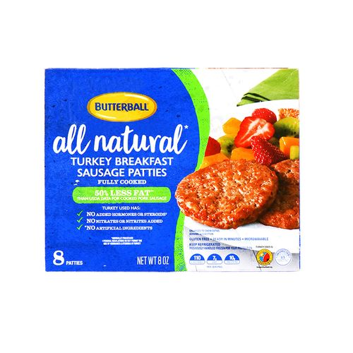 Sausage Patties Butterball 8 Oz