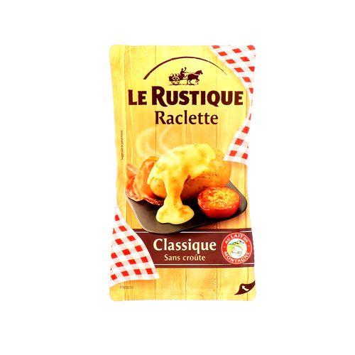 Queso Le Rustique Raclette Classique 400 Gr