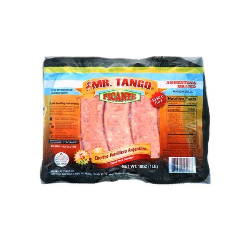 Chorizo Argentino Mr.Tango Picante 16 Oz