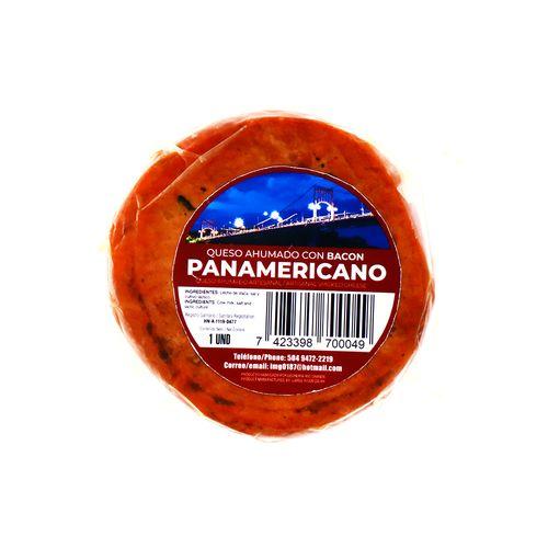 Queso Ahumado Panamericano Con Bacon Un