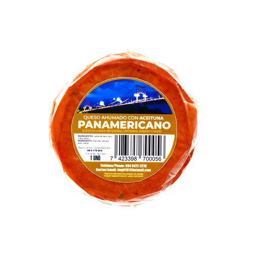 Queso Ahumado Panamericano Con Aceituna Un