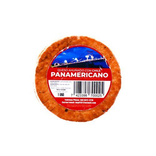 Queso Ahumado Panamericano Con Chile Un