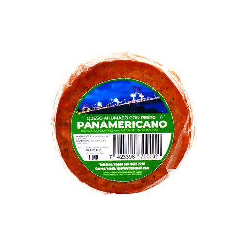 Queso Ahumado Panamericano Con Pesto Un