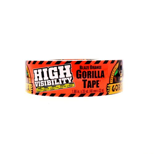 Tape Gorilla Blaze Orange Alta Visibilidad 48Mm X 32M