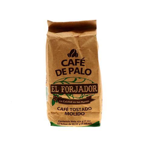 Café De Palo El Forjador Tostado Molido 454 Gr