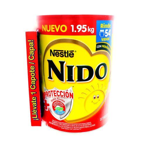 Leche En Polvo Nido Proteccion1+ 1950 Gr + Capote
