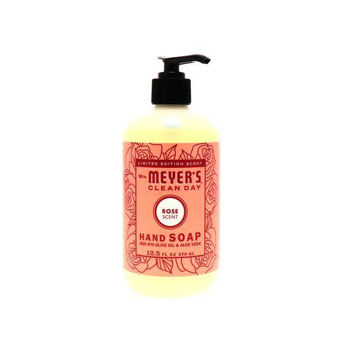 Jabón Para Manos Mr Mayers Antibacterial Rosas 370 Ml