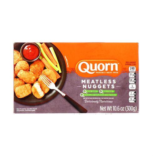 Nuggets De Pollo Quorn Libre De Soya 10.6 Oz