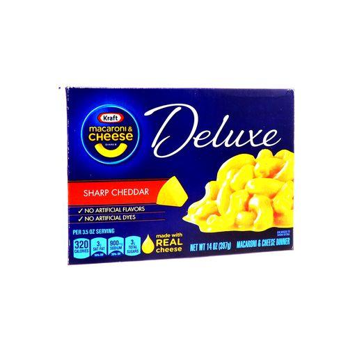 Macarron&Cheese Kraft Delx Sharp Cheddar 14 Oz