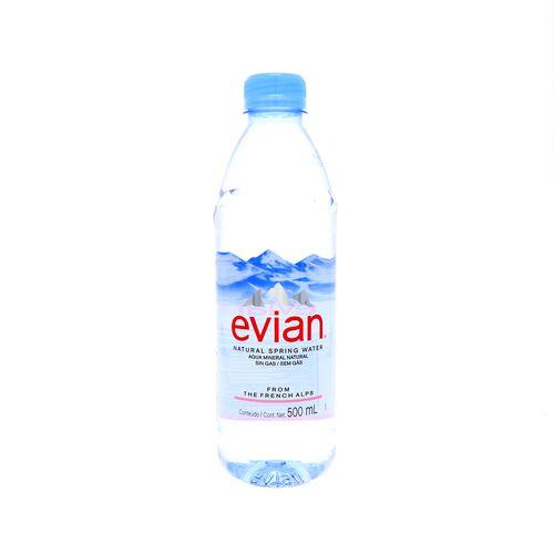 Agua Mineral Evian Sin Gas 500 Ml