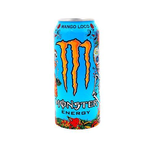 Bebida Energizante Monster Mango Loco Lata 473 Ml