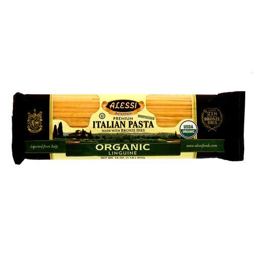 Pasta Alessi Organic Linguine 453 Gr