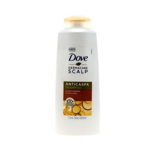 Shampoo Dove Dermacare Scalp Anticaspa Alivio C/Picazon603Ml