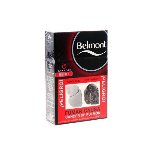 Cigarro Belmont Mint Wild 20 Un