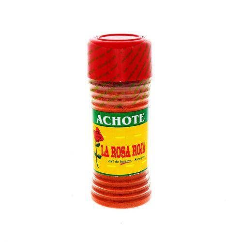 Achiote La Rosa Roja Molido 78 Gr