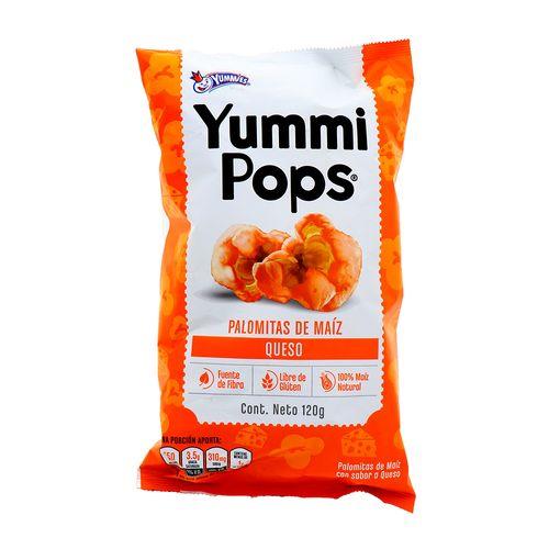 Palomitas De Maiz Yummies Yummi Pops Queso 120 Gr
