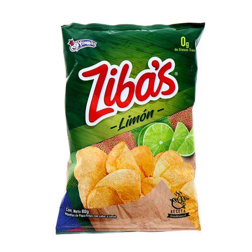 Churro Zibas Limon 80 Gr