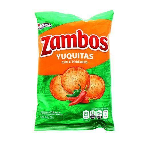 Churro Zambo Yuquitas Chile Toreado 130 Gr
