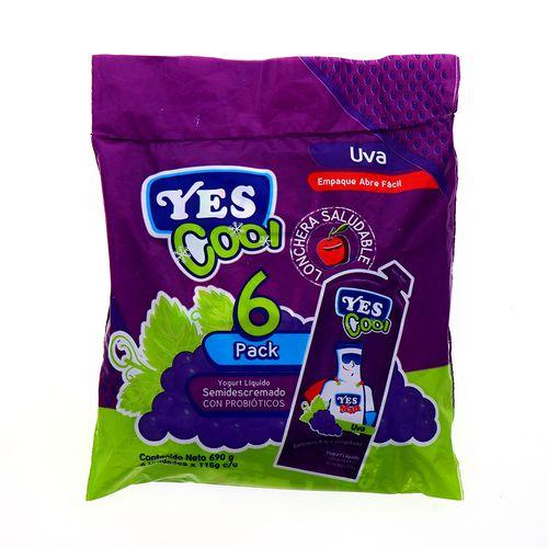 Yogurt Yes Cool Uva 6Pack 690 Gr
