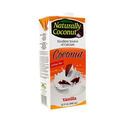 Leche De Coco Naturally Sin Lactosa Vainilla 946 Ml