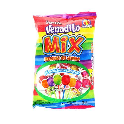 Bombon Venadito Con Chicle Mix 312 Gr