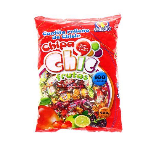 Confite Venadito Chipa Chip Fruta 500 Gr