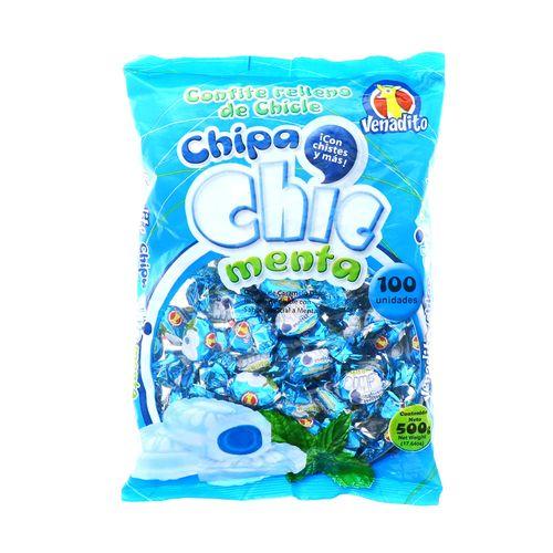 Confite Venadito Chipa Chip Menta 500 Gr