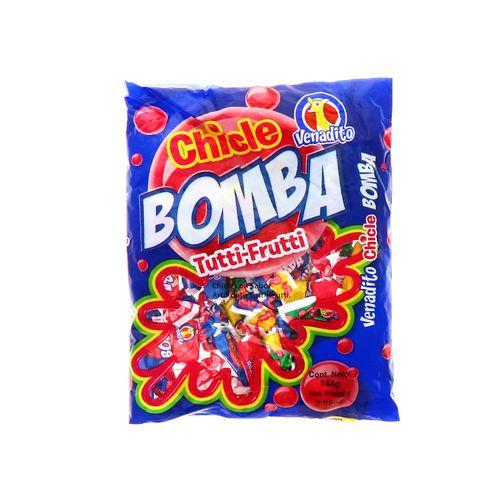 Chicle Venadito Bomba Tutti Fruti 144 Gr