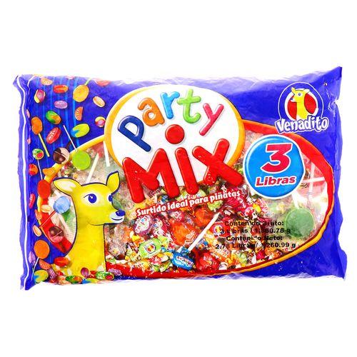 Confite Venadito Party Mix Bolsa 3 Lb