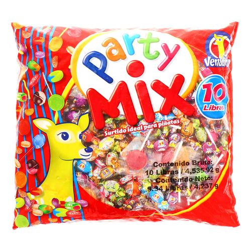 Confite Venadito Party Mix Bolsa 10 Lb