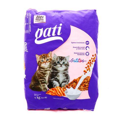 Comida Para Gato Gati Gatitos 2.2 Lb