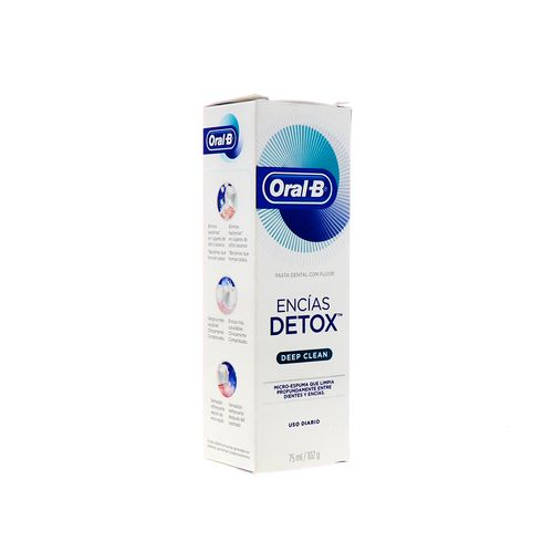 Crema Dent Oral-B C/Flu Encias Detox 75 Ml