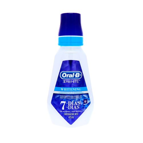 Enjuague Bucal Oral B 3D White 473 Ml