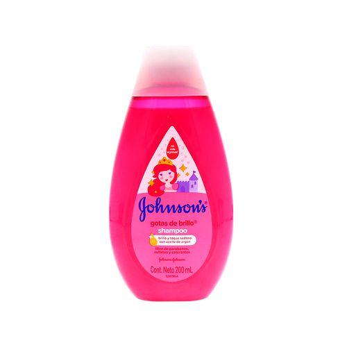 Shampoo Johnsons Baby Gota De Brillo 200 Ml